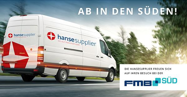 Treffen Sie die hansesupplier auf der FMB Süd in Augsburg