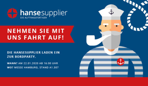 Die hansesupplier laden zur Bordparty
