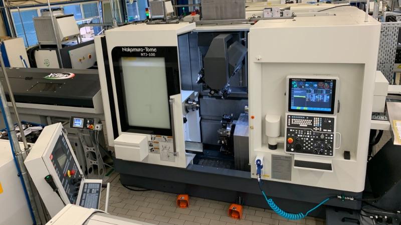 Die neue CNC-Maschine NAKAMURA NTJ-100 bei Grützmann Feinmechanik GmbH