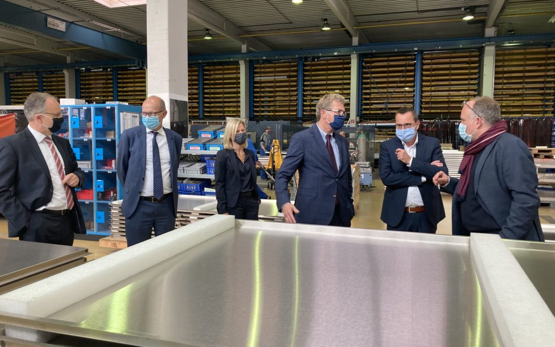 SH- Wirtschaftsminister zu Besuch bei Hoedtke