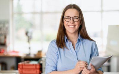Herzlich willkommen: Ann Christin Hahn von LASERmobil e.K.